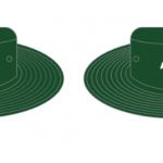 Green Wide Brim Hat