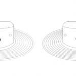 White Wide Brim Hat